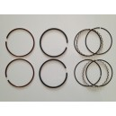 Kit segments LN 1.5 / 2 / 3 mm Ø 77 mm en acier spécial compétition / Set of rings competition LN for 2 pistons