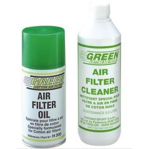 Kit nettoyant / dégraissant Flitre à air Green